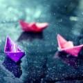 Кораблики под дождем