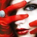 Красные перчати