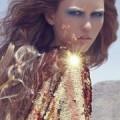 Девушка в золотом
