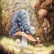 Гусеница и Алиса
