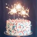 Торт со свечам